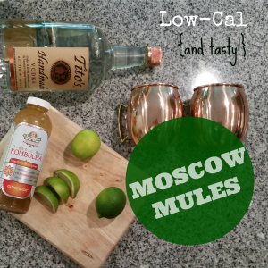Low Cal Moscow Mules